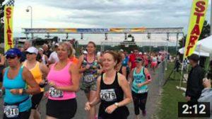 2015 Mighty Niagara Half Marathon Starting Line
