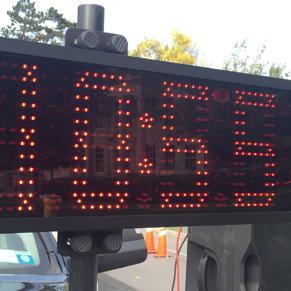 Jaguar High Visibility Clocks